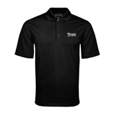 Black Mini Stripe Polo-Wisconsin Lutheran College Stacked
