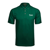 Dark Green Pique Polo-Wisconsin Lutheran College Stacked