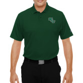 Under Armour Dark Green Performance Polo-WLC Diagonal