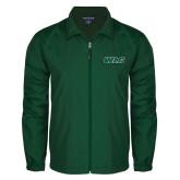 Full Zip Dark Green Wind Jacket-WLC