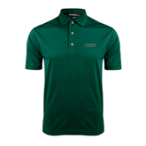 Dark Green Dry Mesh Polo-WLC