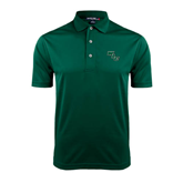 Dark Green Dry Mesh Polo-WLC Diagonal