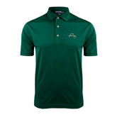 Dark Green Dry Mesh Polo-WLC Diagonal w/ Sword