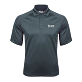 Charcoal Dri Mesh Pro Polo-Wisconsin Lutheran College Stacked