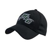 Black Heavyweight Twill Pro Style Hat-WLC Diagonal w/ Sword