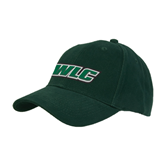 Dark Green Heavyweight Twill Pro Style Hat-WLC