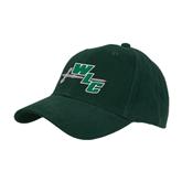 Dark Green Heavyweight Twill Pro Style Hat-WLC Diagonal w/ Sword