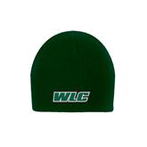 Dark Green Knit Beanie-WLC