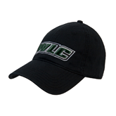 Black Twill Unstructured Low Profile Hat-WLC