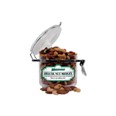 Deluxe Nut Medley Small Round Canister-Wisconsin Lutheran College Warriors