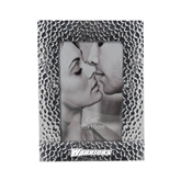 Silver Textured 4 x 6 Photo Frame-Warriors Engraved