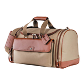 Cutter & Buck Brown Club Duffel-Wisconsin Lutheran College Stacked
