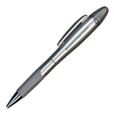 Silver/Silver Blossom Pen/Highlighter-Wisconsin Lutheran College Flat