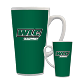 Full Color Latte Mug 17oz-Alumni - WLC