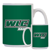 Dad Full Color White Mug 15oz-Dad - WLC
