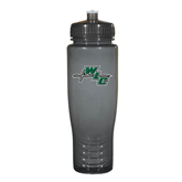 Spectrum Charcoal Sport Bottle 28oz-WLC Diagonal w/ Sword