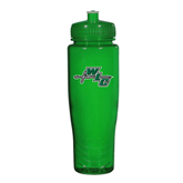 Spectrum Green Sport Bottle 28oz-WLC Diagonal w/ Sword