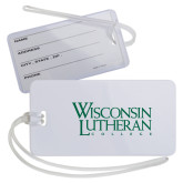 Luggage Tag-Wisconsin Lutheran College Stacked