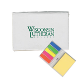 Micro Sticky Book-Wisconsin Lutheran College Stacked