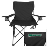 Deluxe Black Captains Chair-Warriors