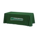 Dark Green 6 foot Table Throw-Wisconsin Lutheran College Warriors
