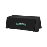 Black 6 foot Table Throw-Wisconsin Lutheran College Warriors