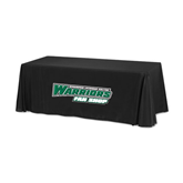 Black 6 foot Table Throw-Fan Shop - Wisconsin Lutheran College Warriors