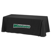 Black 8 foot Table Throw-Wisconsin Lutheran College Warriors