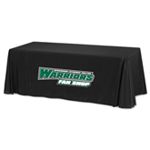 Black 8 foot Table Throw-Fan Shop - Wisconsin Lutheran College Warriors