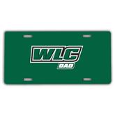 License Plate-Dad - WLC