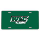 License Plate-Alumni - WLC