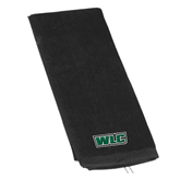 Black Golf Towel-WLC