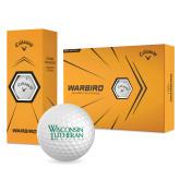 Callaway Warbird Golf Balls 12/pkg-Wisconsin Lutheran College Stacked