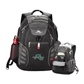 High Sierra Big Wig Black Compu Backpack-WLC Diagonal w/ Sword