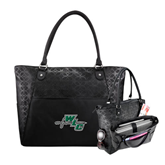 Sophia Checkpoint Friendly Black Compu Tote-WLC Diagonal w/ Sword
