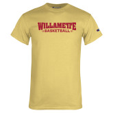 Champion Vegas Gold T Shirt-Basketball
