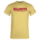 Champion Vegas Gold T Shirt-Football