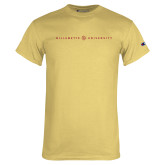 Champion Vegas Gold T Shirt-Willamette University