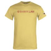 Champion Vegas Gold T Shirt-LAW Flat Mark
