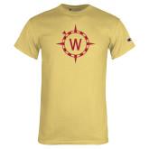 Champion Vegas Gold T Shirt-Icon Mark