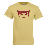 Champion Vegas Gold T Shirt-Bearcat Face