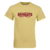 Champion Vegas Gold T Shirt-Wordmark