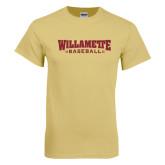 Champion Vegas Gold T Shirt-Baseball Flat
