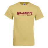 Champion Vegas Gold T Shirt-Track Flat