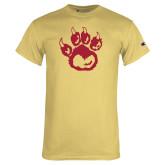 Champion Vegas Gold T Shirt-Paw