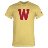 Champion Vegas Gold T Shirt-W