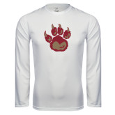 Syntrel Performance White Longsleeve Shirt-Paw