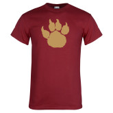 Cardinal T Shirt-Paw Silhouette