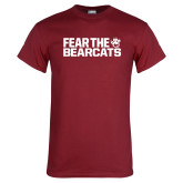 Cardinal T Shirt-Fear the Bearcats