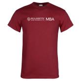 Cardinal T Shirt-MBA Flat Mark